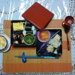 Bento we've prepared for lunch with Yoshiko