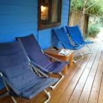 Cabaña azul