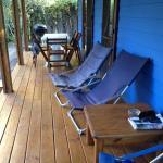 Cabaña azul: nuestra cabaña