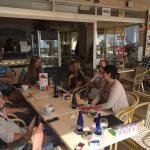 Wieder ein klasse Frühstück bei Toni und seinem Team  Super Frühstück , leckere Waffeln und Eis