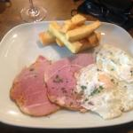 Possibly the best ham, egg and chips........