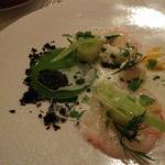Langoustines et caviar