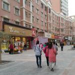 Pedestrian shopping mall near the hotel