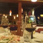 Comienzo de nuestra romántica cena