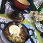 The rosti + fondue duo