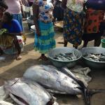 Elmina Fish Market