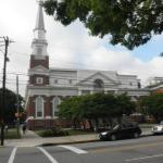 exterior of new sanctuary