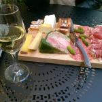 Planche charcuteries-fromages