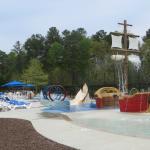 Splash park for kids
