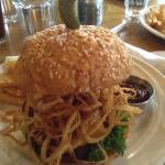 Haystack burger