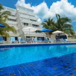 Miramar building and pool