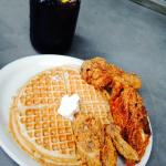 Chicken, Waffles, and Kool-Aid