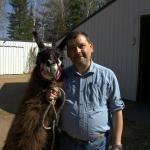 Me, with llama!