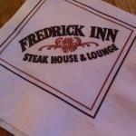 Fredrick Inn napkins