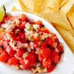 Pico de gallo or conch ceviché?
