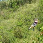 Ziplining 1200FT
