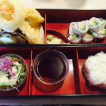 California Roll with Shrimp & Vegetable Tempura