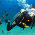 Guided diving in Boracay, Philippines