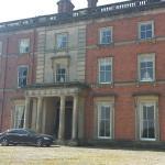 Hall and surrounding area at Netley Hall.