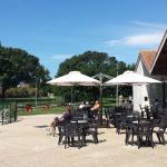 Terrasse de la Résidence-Club La Fayette