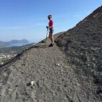 Verso il cratere
