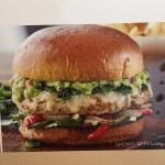 Guacamole turkey burger - menu photo