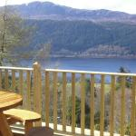 loch views from our terrace