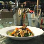 Dining in The Sun