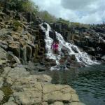La Cascada waterfall-Aguas Blancas