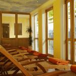 Ruheraum in der Sauna