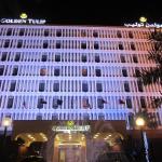 Hotel Facade Night