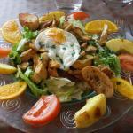 Les salades repas au top  !