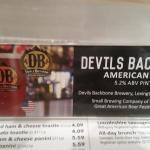 Devils backbone beer