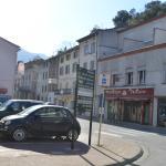 Hovedgaden i Axat