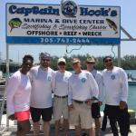 Great day of diving at Captain Hooks!