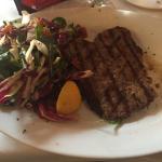 Steak & Salad! Yummy