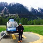 Off heli-touring!!