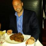 First trip to Shula's Steakhouse.   Had to try the 48oz'r!