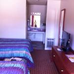 Bedroom and vanity