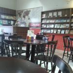 Espaço bacana do Bookafe Porto Velho.