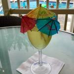 What makes wine festive? Umbrellas by the boatload!