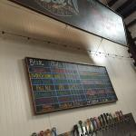 Tap room wall of goodness.