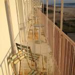 le balcon, d'un autre temps