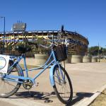 Passing by La Bombonera - the stadium in La Boca