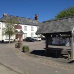 Pub from across the village square