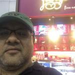 Flurys kiosk in Kolkata airport