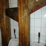 Schafotte auf der Herrentoilette