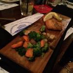 Perfect cedar plank salmon