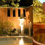 Private open-air Onsen baths