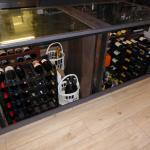 La cave à vin escamotable